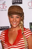 Lauren C. Mayhew  at the Grand Opening of the Apple Lounge. Apple Lounge, West Hollywood, CA. 08-14-