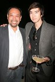 Tomohiro Hayashi and Andy Seri  at the 'Ten Nights Of Dreams' Afterparty Hosted By Cinema Epoch. Kyo