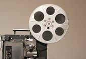 Film Projector Side Close