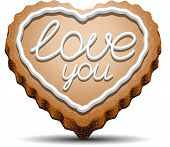 Cookie For Valentine's Day