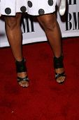 Elise Neal's shoes  at the 2008 BMI Urban Awards. The Wilshire Theater, Los Angeles, CA. 09-04-08