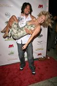 Brandin Rackley and Ernesto Ramirez  at National Lampoon's 'The Great American Fantasy'. Playboy Mansion, Holmby Hills, CA. 09-06-08