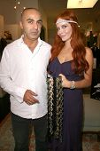 Phoebe Price and owner of Avant Garde  at Avant Garde Boutique where Phoebe Price Headbands are sold, Beverly Hills, CA. 09-12-08