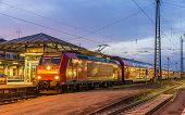 Suburban Electric Train At Offenburg Railway Station. Germany - Baden-wurttemberg