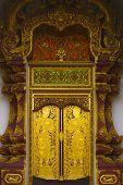 Pattern Of Temple Door