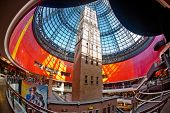 MELBOURNE, AUSTRALIA - JULY 3  2014: Melbourne's Shot Tower which was built on the site in 1888 is a