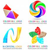Colorfull Logo Set