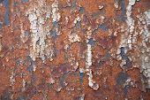 Grunge retro rusty metal close up photo , great texture,background or design element for your projec