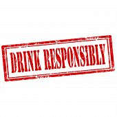Drink Responsibly-stamp