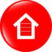 House Button, Button Signs, Web Icon