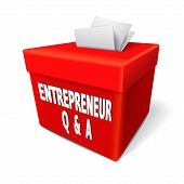 Entrepreneur Q And A Words On The Red Box