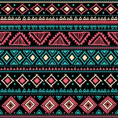 picture of tribal  - Tribal vintage ethnic seamless for your business - JPG