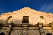 The Alamo On A Bright Blue Sky
