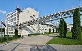 ALEKSEEVKA, BELGOROD REGION, RUSSIA - JUNE 8, 2014: Industrial buildings of PJSC EFKO. EFKO Group is