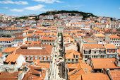 Cityscape of Lisbon capital city of Portugal