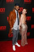 NEW YORK-MAR 13: Actors James Brown III and Jenny Lee Stern attend the 'Rocky' Broadway opening nigh