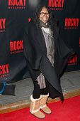 NEW YORK-MAR 13: Actress Whoopi Goldberg attends the 'Rocky' Broadway opening night at the Winter Ga