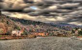 The Neckar River In Heidelberg, Germany