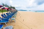 PHUKET - JUNE 7 :  Tourists spend their  holiday on JUNE 7, 2014 in Phuket, Thailand. Phuket is a popular destination famous for it's beaches