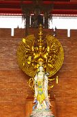Goddess Of Mercy And Thousand Hands Buddha Image