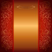 red royal invitation card