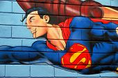 Cartoon street art
