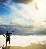 Kitesurfing in Lefkada Greece