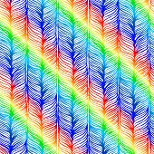Vector Seamless Pattern consist of Plait