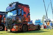 The Fear Of The Dark Scania Show Truck