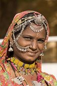 India Rajasthani Woman