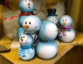 Little Snowmen Figurines