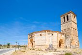 stock photo of templar  - Veracruz medieval church - JPG
