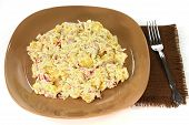 Gourmet Potatoes Onion Salad And Mayonnaise