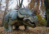 Styracosaurus (Styracosaurus albertensis). Dinosaur from the Cretaceous period.