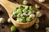 Homemade Dry Spice Wasabi Peas