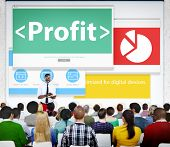 Profit Finance Income Money Currency Seminar Learning Concept