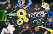 Teamwork Team Together Collaboration People Education Learning Concept