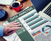 Business Data Analysis Information Network Concept