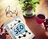 Digital Online Search Engine Optimization Web Online Concept