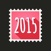 Post Mail Seal Year 2015 Design