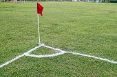 Soccer corner flag