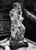 Bali Temple Statue