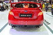 Nonthaburi - December 1: Subaru Wrx Sti Car Display At Thailand International Motor Expo On December