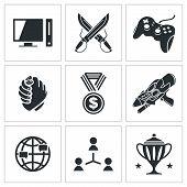 Esports Icons Set