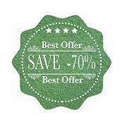 Best Offer Save -70%