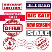 Set Stamp Winter Sale