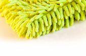 Green Dust Cloth Closeup