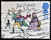 UNITED KINGDOM - CIRCA 1993: A stamp printed in Great Britain dedicated to Christmas