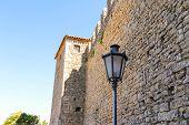 Castello Della Guaita - A Fortress On Mount Titan. The Republic Of San Marino