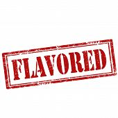 Flavored stamp